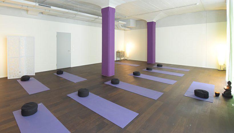 Willkommen im padma yoga Studio